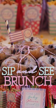 Party Box Design: Sip and See Baby Brunch on a Budget