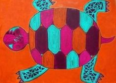 Turtles are considered sacred in the Native American culture.  This is a beautiful article honoring the turtle with original drawings.