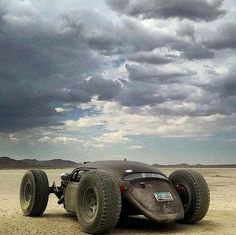Buggin' out! This is a rad rat rod!