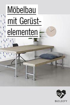 schlicht und zeitlos selbstgebaute m bel im industriedesign eine mischung aus holz und metall. Black Bedroom Furniture Sets. Home Design Ideas