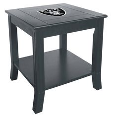 The Dallas Cowboys Side Table looks fantastic in any Cowboys Man Cave or Game Room! A great NFL gift for Dallas Fans. Dallas Cowboys, Pittsburgh Steelers, Denver Broncos, Houston Texans, Nfl Dallas, Cincinnati Bengals, Indianapolis Colts, Pittsburgh Penguins, Man Cave Furniture