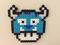 Sulley - Monsters, Inc. mushroom perler beads by Bjrnbr - Björn Börjesson