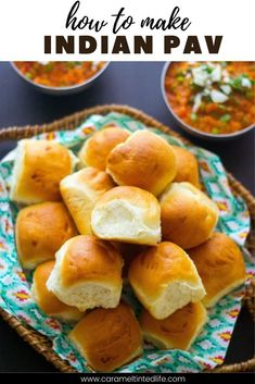 Pav is an Indian bread made with very basic ingredients! Follow this recipe for the softest, pillowy pavs #indianbread #pavrecipe #pav #easybreadrolls #ctl #bestbreadrolls #bread #pavbread Best Roast Recipe, Oven Recipes, Sweets Recipes, Brunch Recipes, Bread Recipes, Indian Appetizers, Easy Indian Recipes, Good Roasts, Kitchens