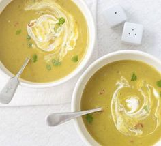Spiced root vegetable soup This hearty vegetarian soup will warm up cold winter nights and can be frozen for later Winter Vegetable Soup, Veg Soup, Vegetable Soup Recipes, Lentil Soup, Veggie Food, Hearty Vegetarian Soup, Vegetarian Recipes, Bbc Good Food Recipes, Cooking Recipes