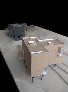 T Space - Steven Holl Architects. Just behind, the Little Tesseract House. Rhinebeck