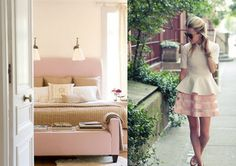 Do you remember in the early when powder pink and powder blue were popular? Plascon Colours, Pink Bedrooms, Stay In Bed, Powder Pink, Color Inspiration, Paint Colors, Master Bedroom, Sweet Home, Palette