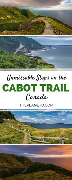 NS: Unmissable stops along the Cabot Trail in Nova Scotia, easily one of Canada's most scenic road trip routes. A day itinerary on Cape Breton Island including best hikes, activities, beaches and national parks. Travel in Canada Cabot Trail, Pvt Canada, Visit Canada, East Coast Travel, East Coast Road Trip, Cape Breton, Alberta Canada, Roadtrip Europa, Places To Travel