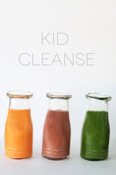 New year goals to get kid's eating healthy? Start with these cleansing recipes!