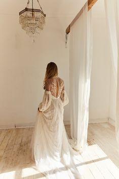 Charlie Long Sleeve Wedding Dress by Bo