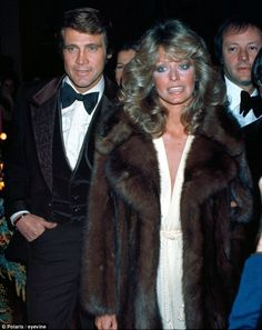 "farrahfawcettfanclub: ""Lee and Farrah Fawcett-Majors """