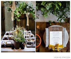 Seattle Eco Friendly  and  Organic Wedding  - Jasmine Star Blog
