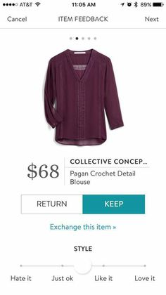 I love Stitch Fix! It's the best personalized styling service. Complete your style profile and your SF stylist selects and ships 5 pieces to your house. Keep what you love and return what you don't. Try it out using the link! #stitchfix stitchfix.com/referral/8861992