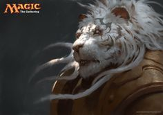 Ajani by LASAHIDO on DeviantArt
