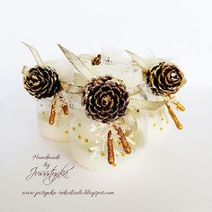 Handmade by Jussstynka: Magiczny blask III Handmade, Hand Made, Craft, Handarbeit