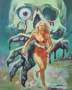 …pulp horror art by Esteban Maroto . - Realty Worlds Tactical Gear Dark Art Relationship Goals Horror Vintage, Retro Horror, Horror Posters, Horror Comics, Film Posters, Arte Horror, Arte Punk, Blog Art, Horror Artwork