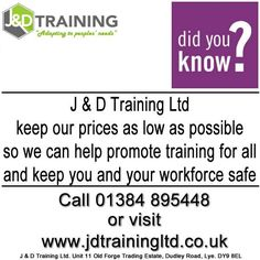 We keep our prices as low as possible to help promote safety in the workplace #forklift #training #safety #jobsearch #offers