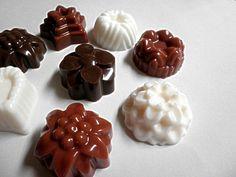 Chocolates Soaps  Gift Box  of 8 BomBom  Soaps  by Kokolele, $6.50