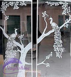 شیشه های تزئینی