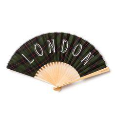 扇子 LONDON×CHECK.G-0