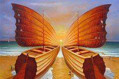 Vladimir Kush - Boats