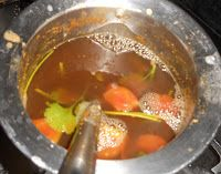 Recipes In Tamil, Punch Bowls, Soup, Beef, Meat, Soups, Ox, Soup Appetizers, Steaks
