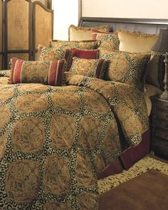 Sherry Kline Tangiers Royale Comforter Set California King Gold >>> Check out this great product.