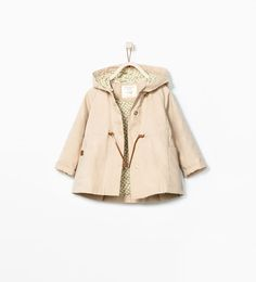 Image 1 of FLORAL LINED TRENCHCOAT from Zara