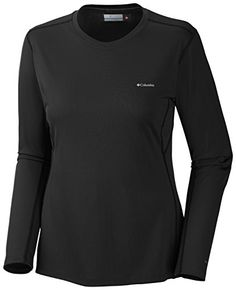 Columbia Womens Midweight II Long Sleeve Top Black Large >>> Want to know more, click on the image. http://www.amazon.com/gp/product/B00GT4RCMU/?tag=camping3638-20&pmn=100117230707