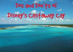 Disney Castaway Cay tips
