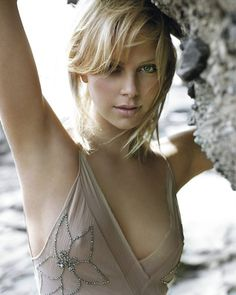 Charlize Theron - wish I had her nose :)