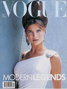 Stephanie Seymour - Vogue UK Dec 88