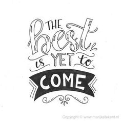 Het beste moet nog komen :)