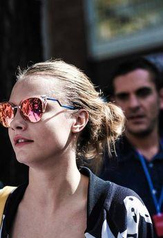 Cara Delevingne with shades
