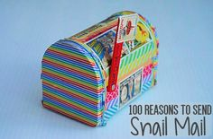 A list of 100 reasons to send snail mail. Send it for traditional and unusual holidays, personal occassions, and specific reasons like mail art calls.
