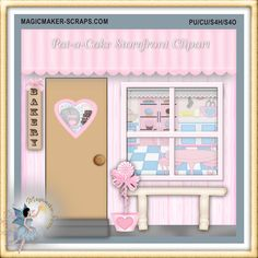 Pat-a-Cake Storefront Clipart