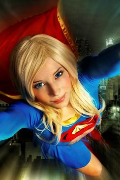 Supergirl - So many possible comments. I hope she finds her superman.