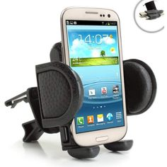 27420574bcd USA Gear One Touch Air Vent Mount Smartphone Holder with Adjustable Display  and 360 Degree Rotation - Works with Samsung Galaxy , , Edge , Note 7 and  More ...