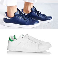 Rank & Style - Adidas Stan Smith Leather Sneaker and Snake Sneaker #rankandstyle