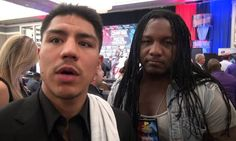Jessie Vargas on Crawford's win over Postol, how a fight between them would go