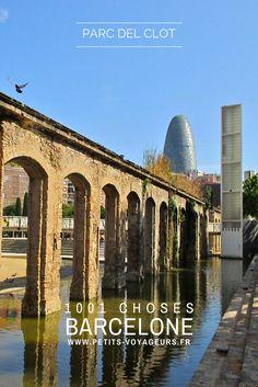 BALADE - Le parc del Clot est situé sur les anciens ateliers de la Renfe. Une très agréable balade au calme, dans une ambiance très différente du centre de Barcelone.