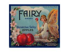 Warshaw Collection of Business Americana Food; Fruit Crate Labels, Liberty Orchard Co. Giclee Print at Art.com