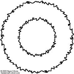 Christmas wreath outline. Best wreaths images