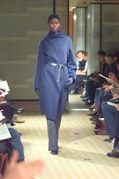 A look from Hermès Fall 2001/2002 collection