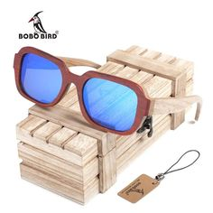 BOBO BIRD Handmade Polarized Sunglasses
