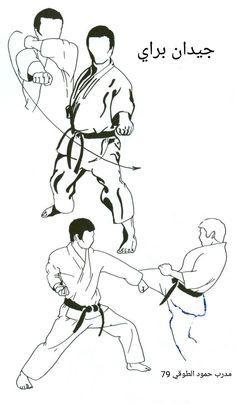 Gedan Barai, Kihon und Kumite