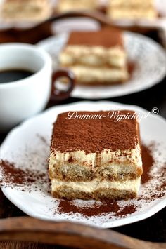 Tiramisu – Famous Last Words Köstliche Desserts, Delicious Desserts, Good Food, Ice Cream, Healthy Recipes, Food And Drink, Dishes, Baking, Ethnic Recipes
