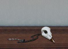 Valentine's sale: Blue Jay Pendant with oxidized silver chain. $65.00, via Etsy.  www.beetleandflor.com