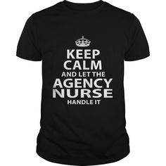 AGENCY-NURSE***How to ?  1. Select color  2. Click the ADD TO CART button  3. Select your Preferred Size Quantity and Color  4. CHECKOUT!   If You dont like this shirt you can use the SEARCH BOX and find the Custom Shirt with your Name!!job title