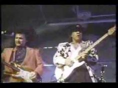 stevie ray vaughan & dick dale pipeline-you gotta love DD's hair-that is one big 80's head of hair!!