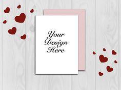 Mockup Card mockup Valentine mockup Wedding card mockup #mockup #cardmockup #envelopemockup Envelope Mockup, Wedding Cards, Your Design, Unique Jewelry, Frame, Handmade Gifts, Etsy, Home Decor, Wedding Ecards